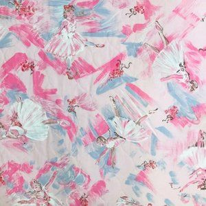 Ballerina Quilt Fabric with Batting